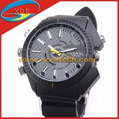 Spy Watch Spy Products Leather Strap