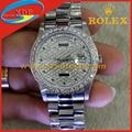 Rolex Wrist Clone Diamond Luxury Design