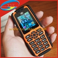 Millitary Mobile Phones Waterproof Dust Proof Crash Proof Charge Bank