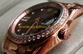 Rolex Wrist Clone Diamond Oyster Perpetual Style Watches