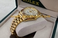 Replica Rolex Watches Cool Design Golden Color