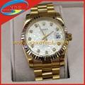 Replica Rolex Watches Cool Design Golden