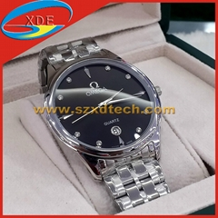 Omega Watches Classic Style Analogue quartz watches Steel Belt