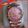 Replica Rolex Wrist Rose Gold Color with