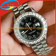 Shinning Diamond Rolex Watches Brand Wrist
