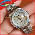 Clone Rolex Wrist with Diamond Both Men