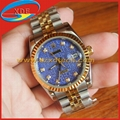 Copy Rolex Watches Steel Band Blue Face