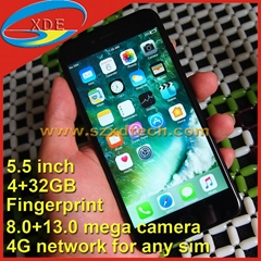 Replica iPhone 7 Plus 5.5 Inch Real Fingerprint 4G Free 4GB+32GB (Hot Product - 9*)