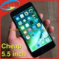 Clone iPhone 7 Plus 5.5 inch Smart Mobile Phone High Quality 3G Metal Body 1:1