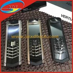 Copy Vertu Signature S Checkered Lines Cool GSM Phones