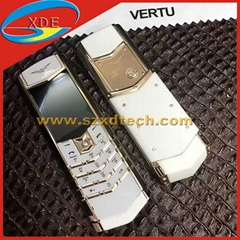 Luxury Brand Vertu Signature S Copy Real Leather Case Best Quality