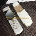 Luxury Brand Vertu Signature S Copy Real Leather Case Best Quality 8