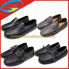 Best Quality LV Loafers LV Leather Shoes Different Colors Avaliable