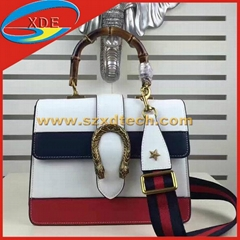 Gucci Dionysus Leather Top Handle Bags GG Bags 1:1