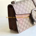 Gucci Dionysus GG Supreme Shoulder Bags Handbags Big and Mini Size Avaliable