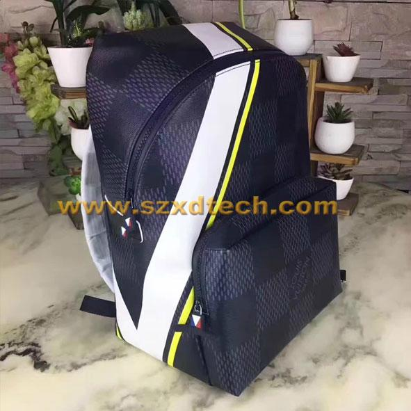 08498ed77890 ... LV Backpacks Louis Vuitton APOLLO BACKPACK N44006 Damier Cobalt 18 ...