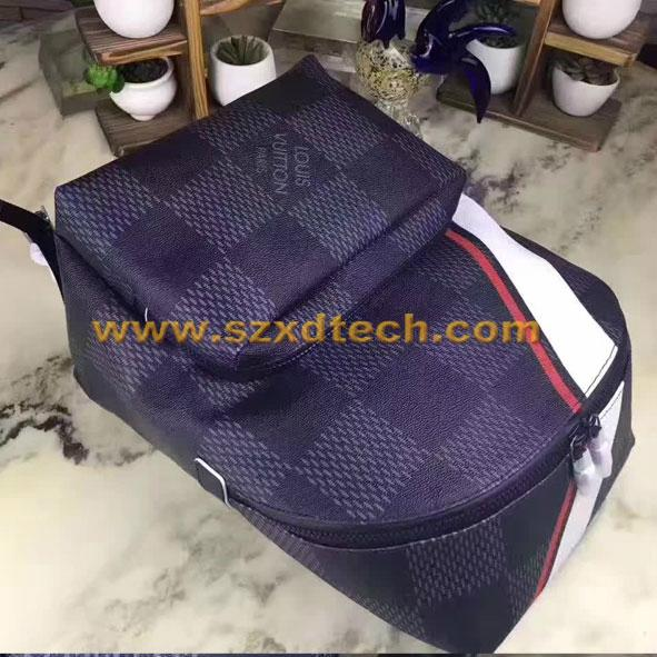 c0b37e7257af ... LV Backpacks Louis Vuitton APOLLO BACKPACK N44006 Damier Cobalt 5 ...