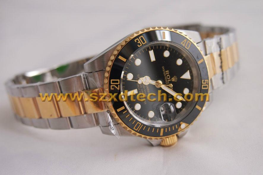 Rolex Watches OYSTER PERPETUAL SUBMARINER Clone Gold or Silver Belt All Colors 2