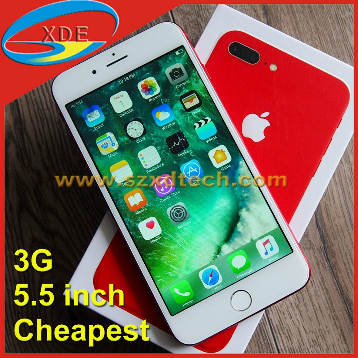 Replica iPhone 7 Plus Cheapest iPhone 5.5 inch with 3G Support Downloading
