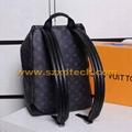 LV Backpacks LV Handbags MONOGRAM Design Big Capacity 3