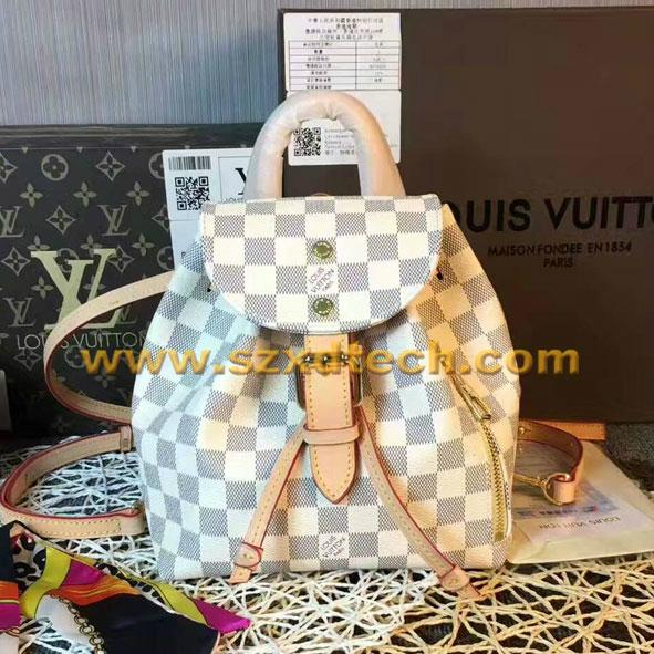 Louis Vuitton Sperone Damier Azur Canvas Handbags LV Backpacks LV Bags 9
