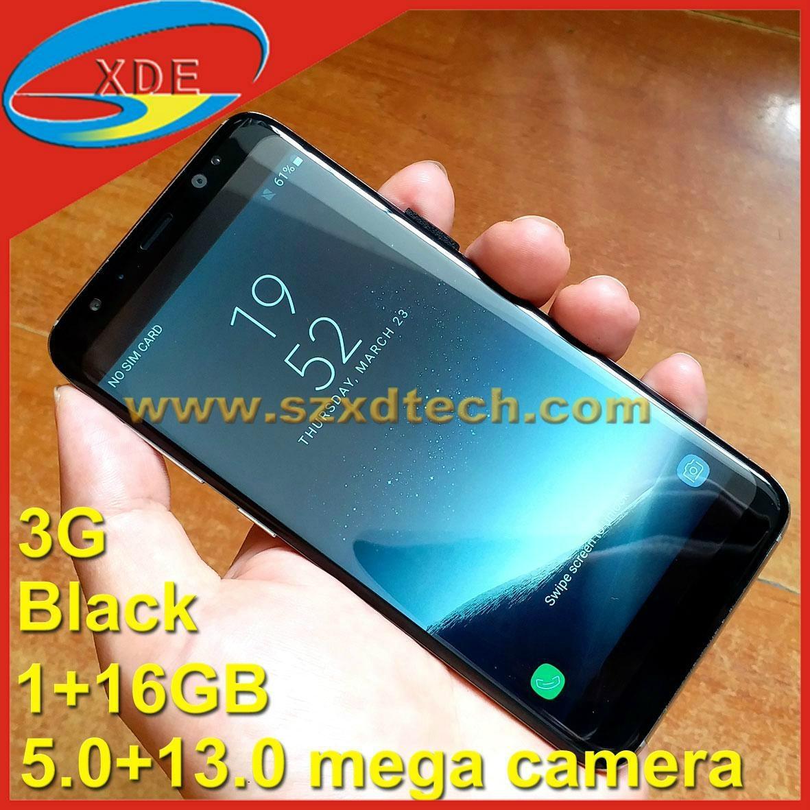 Latest Samsung S8 Edge Samsung Galaxy S8 Clone 3G 1+16GB