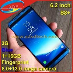 Big Screen Samsung Clone Samsung S8+ S8 Plus Fingerprint 1+16GB