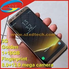 Metal Casing Samsung S8 Galaxy S8 Edge 1:1 Copy Fingnerprint 1+16GB