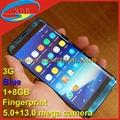 Replica Samsung S8 Edge Smart Phone with Fingerprint 3G Good Camera