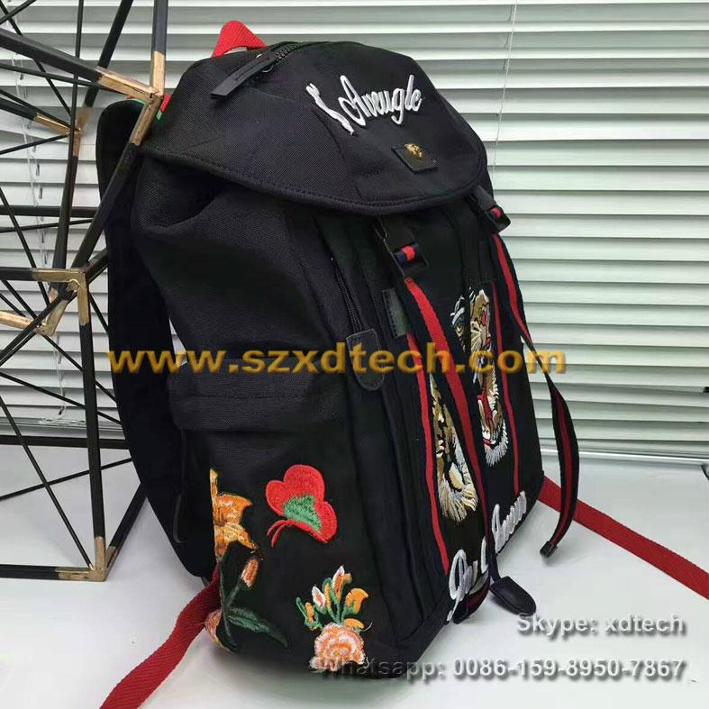 4e35c0f5f800e Gucci Embroidered Backpack - Ontario Active School Travel
