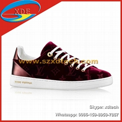 Louis Vuitton FRONTROW SNEAKER 1A38X7 1A38XM LV Sneakers with Luxe Velvet
