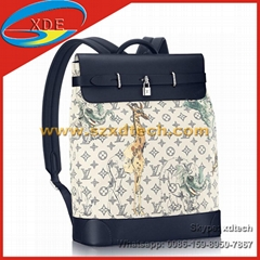 Latest LV Backpacks STEAMER BACKPACK M54126 Monogram Savane Canvas LV Bags