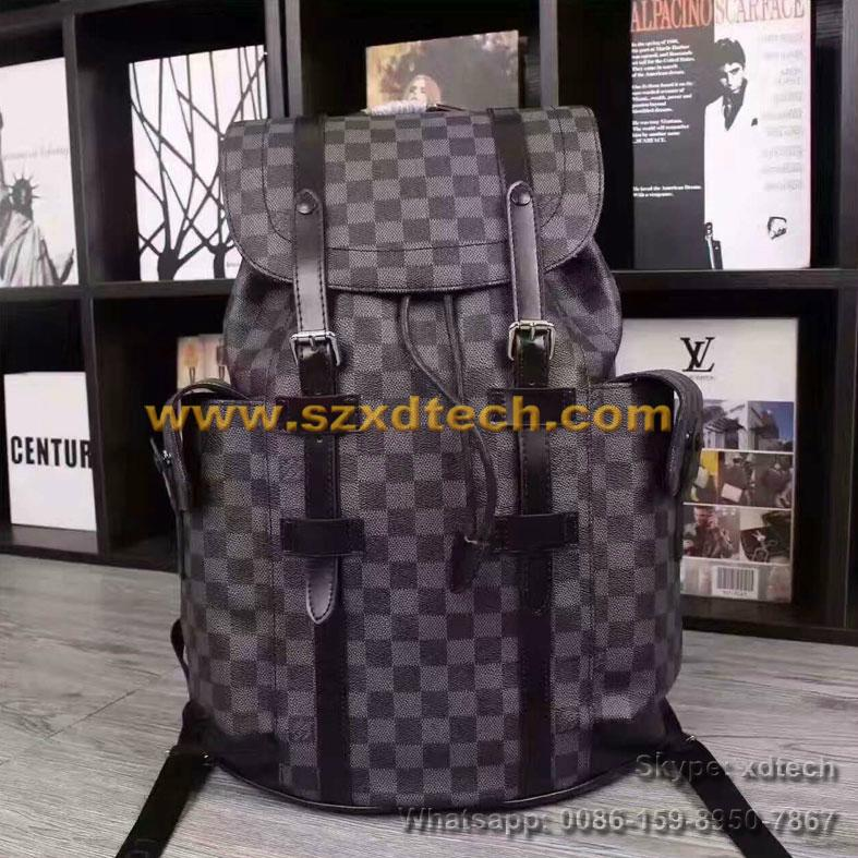 Luxury and Fashion LV Backpacks CHRISTOPHER PM N41379 Best Seller Travel Bags 3