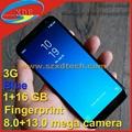 1:1 Screen 5.8 inch Samsung S8 Copy Samsung Galaxy 1+16GB with Real Fingerprint