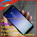 New Updated 5.8 inch Samsung Galaxy S8 Real Fingerprint Big Capacity