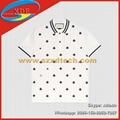 GUCCI Cotton Polo with Bees and Stars White Cotton Polo Gucci Polo T-Shirt