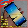 6.2 Inch Full Screen Replica Galaxy Note 8 Note 8 Fast Screen