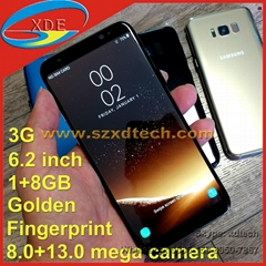 Real 6.2 Inch Samsung Galaxy S8 Plus Galaxy S8 Plus S8+ Good Clone Android Phone