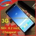 Cheapest Samsung Galaxy S8 Plus Clone Samsung S8+ 6.2 Inch Full Screen 3G