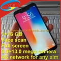 Replica iPhone X with Face Scan 4G Free