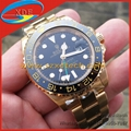 Wholesale Replica Rolex GMT-Master II Yellow Gold AAA Quality Rolex Watches