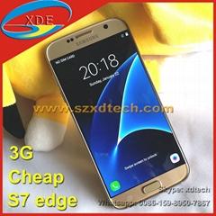 Cheap S7 Edge 3G Galaxy S7 Edge Good Clone Android Phone