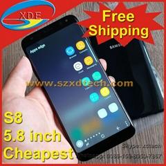 Free Shipping Wholesale Samsung Galaxy S8 Samsung S8 Cheap 5.8 inch 1:1 Copy
