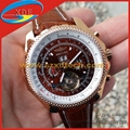 Breitling Watch High Quality Wrist Tourbillon Breitling Wrist Leather Band