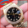 Luxury Rolex Watches with Diamond Date All Colors Avaliable