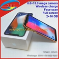Apple iPhone X Full Screen Face Scan Diamond Side Different Colors 4G Free