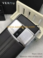 Copy Pure Jet Calf Leather 3+64GB Wireless Charge 4G Vertu Touch Luxury Phones
