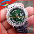 Big Diamond Rolex Watches Different Color Dial Avaliable Luxury Watches 1