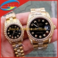 Wholesale Rolex Watches Clone Diamond Watches Couple Watches Matching Watches