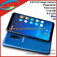 Best Replica S9+ Samsung Galaxy S9 Plus S9+ Real Curve Face Scan Fingerprint (Hot Product - 2*)